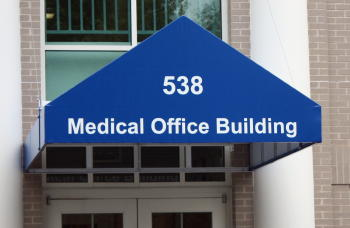 Medical Office Awning