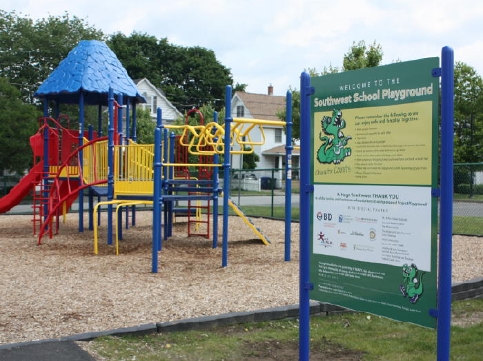 Playground Signs – We Color Match Paint to your Equipment!