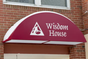 Wisdom House Awning
