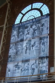 Yale University Track & Field Banner